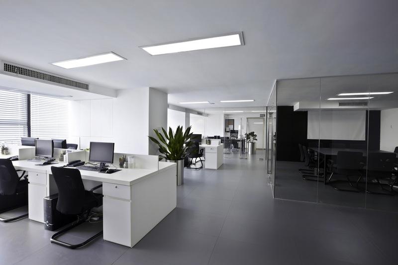 éclairage bureaux neufs lyon saint etienne